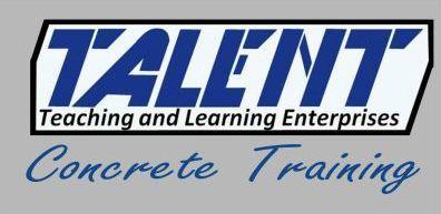Talent Concrete Training :: Courses & qualifications